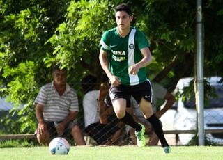Diogo Coritiba treino (Foto: Divulgação / Site oficial do Coritiba)