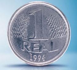 Moeda original de R$ 1 saiu de circulação no final de 2003 (Foto: Divulgação/Banco Central)