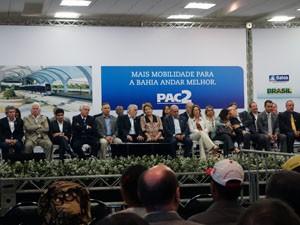 Cerimônia foi nesta terça (15), em Salvador (Foto: Egi Santana/G1)