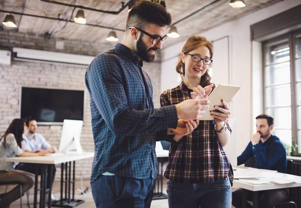 Empreendedorismo ; coworking ; cultura empreendedora ; startup ;  (Foto: Thinkstock)