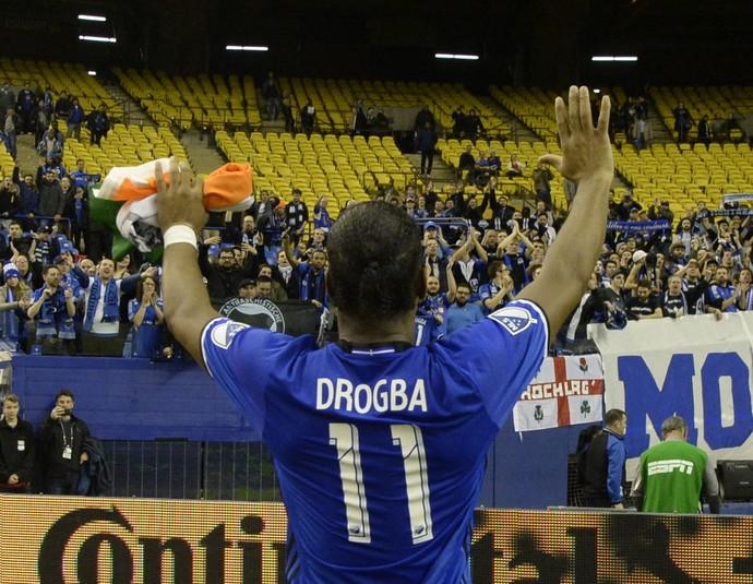 Didier Drogba se despede Montreal Impact (Foto: Reuters)
