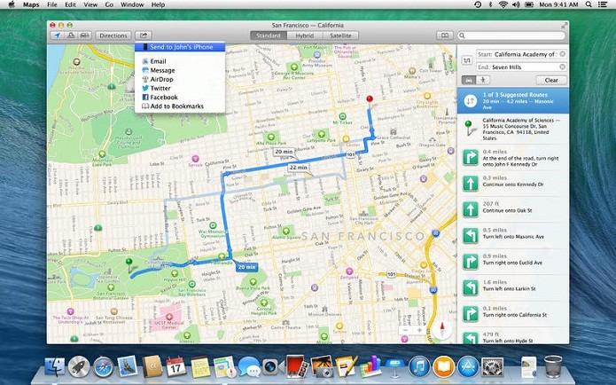 Próximo OS X poderá ser chamado de Yosemite, Redwood, Mammoth, Big Sur ou Pacific (Foto: Divulgação/Mac AppStore)