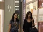 Fátima Bernardes tem dia de compras no Rio de Janeiro