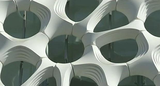 Arquitetos afirma que estrutura na fachada pode neutralizar poluição de até mil veículos. (Foto: BBC)