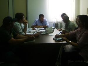 Secretário Geraldo Nobre apontou 18 áreas de risco e alagamento em Campina Grande (Foto: Taiguara Rangel/G1)