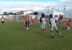 serra talhada treino (Foto: Divulgação / Serra Talhada)