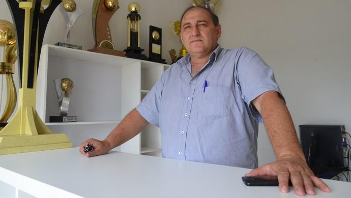 José Carlos Dalanhol, presidente do Vilhena-RO (Foto: Dennis Weber)