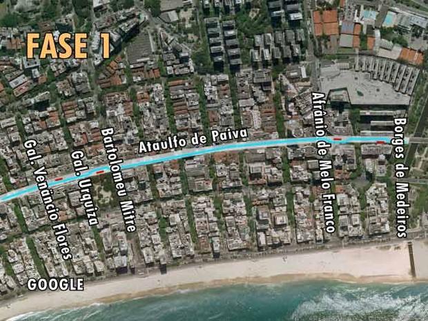Mapa 4 Ataulfo de Paiva antes (Foto: Editoria de Arte)