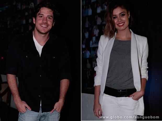 Marco Pigossi e Sophie Charlotte (Foto: Felipe Monteiro / TV Globo)
