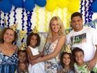 Ronaldo Fenômeno comemora aniversário da filha Maria Sophia