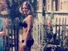 Vera Fischer relembra seus 17 anos em foto de biquíni: 'Bons tempos'
