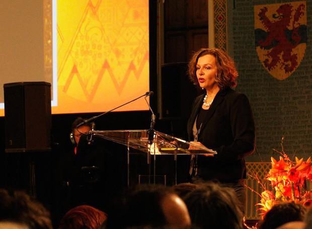 Edith Schippers, ministra holandesa de Saúde (Foto: Dean Mouhtaropoulos/Getty Images)