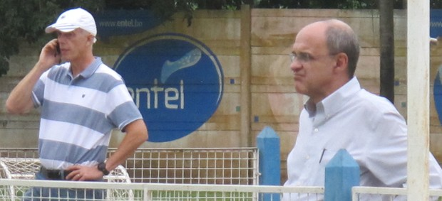 Pelaipe Wallim e Bandeira de Mello Flamengo