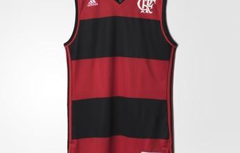 Fla divulga uniformes do basquete e estreia será na abertura do NBB