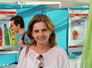 Jornalista Ana Cristina Batista ministra palestra sobre jornalismo colaborativo. (Foto: Arquivo Pessoal)