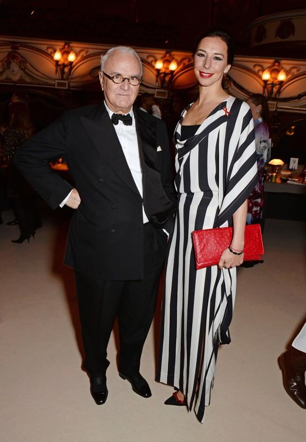 Manolo Blahnik e Kristina Blahnik (Foto: Getty Image)