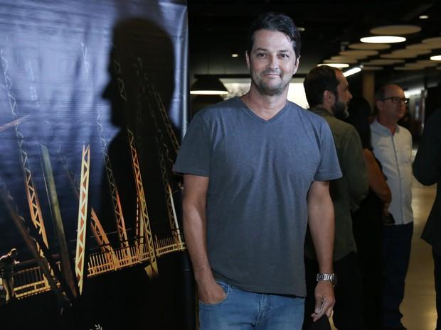 Marcelo Serrado em pré-estreia de filme no Rio (Foto: Roberto Filho/ Brazil News)