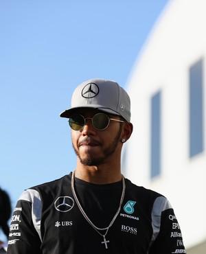 Lewis Hamilton no GP do Japão (Foto: Getty Images)