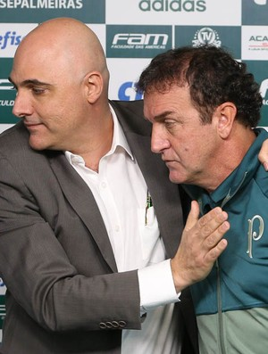 Presidente discorda de Cuca e diz que Palmeiras está mais forte que em 2016