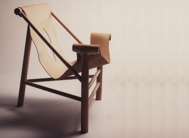 Protótipo com base de madeira (Foto: Chico Albuquerque/Convênio Museu da Imagem e do Som - SP/Instituto Moreira Salles)