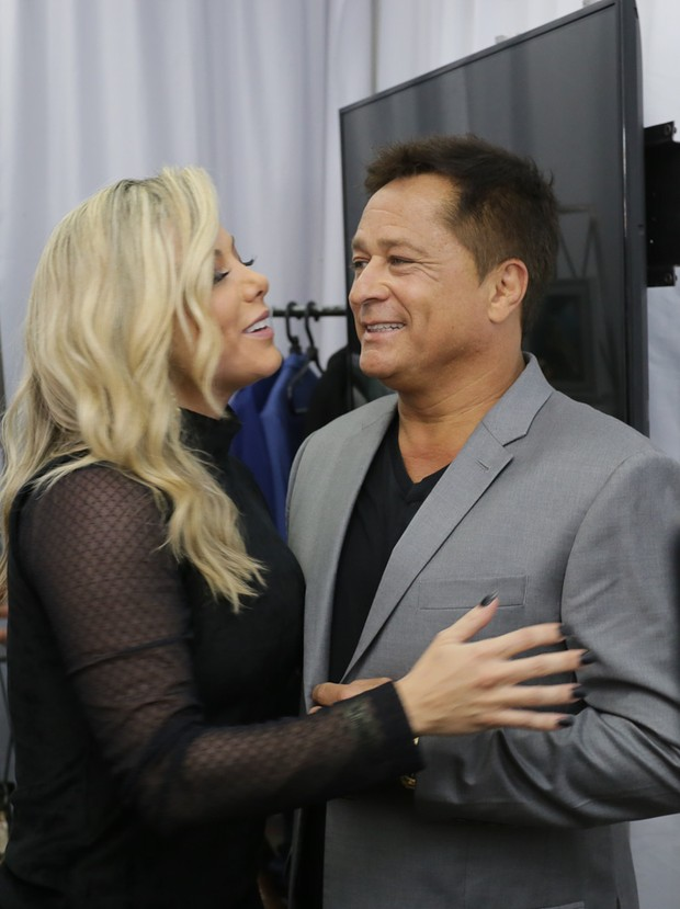 Leonardo e Poliana Rocha (Foto: Claudio Augusto  /Brazil News)