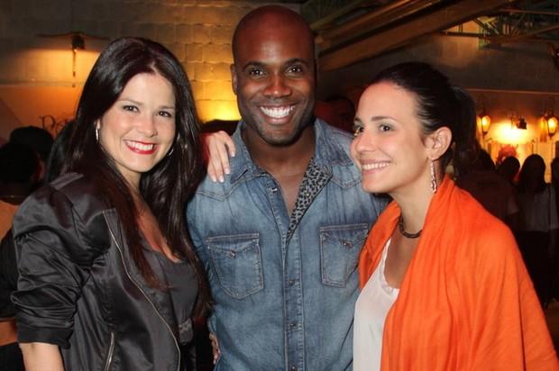 Samara Felippo, Rafael Zulu e Juliana Knust (Foto: Anderson Borde  / Agnews)