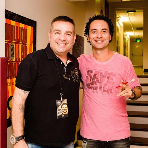 Marcos Chiesa e Marco Luque (Foto: Divulgação)