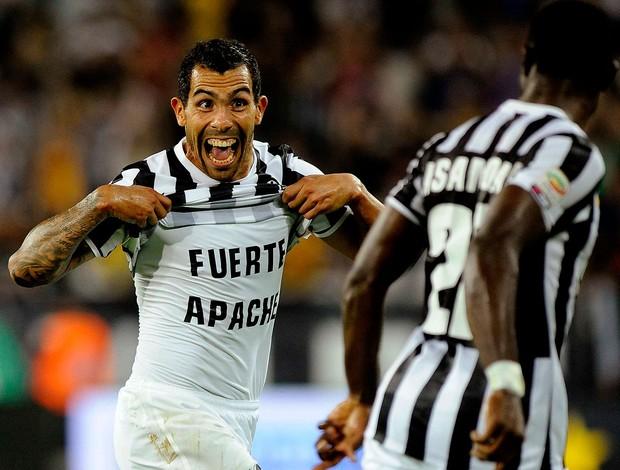 carlos tevez juventus gol lazio (Foto: Agência Reuters)