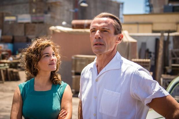 Audrey Tautou integra o elenco do filme A Odisseia com o ator Lambert Wilson  (Foto: Divulgação)