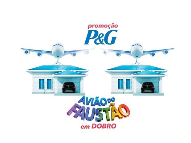 avião do faustão (Foto: domingaodofaustao/tvglobo)