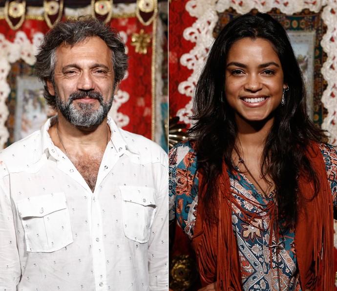 Domingos Montagner e Lucy Alves serão Santo e Luzia na fase contemporânea de 'Velho Chico' (Foto: Inacio Moraes/ Gshow)