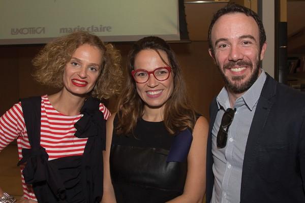 Ucha Meirelles, Marina Caruso e André do Val (Foto: Rogério Canella)