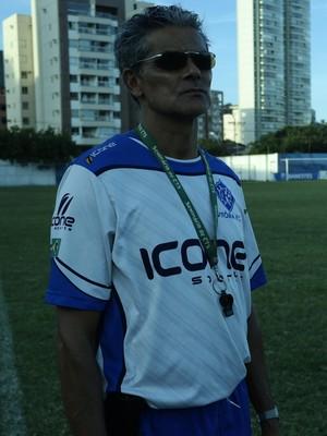 Vito Capucho, novo técnico do Vitória-ES (Foto: Richard Pinheiro/GloboEsporte.com)