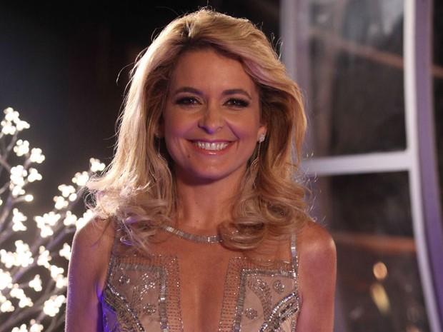 Pele linda e cílios enormes deixaram Pamela uma verdadeira diva (Foto: Pedro Curi / TV Globo)