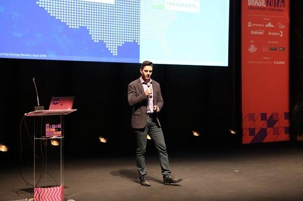Rodrigo Sá, diretor global de desenvolvimento de negócios da Hyperloop (Foto: Gianne Carvalho)