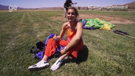 Depois de lavar pratos na Califórnia, brasileiro conquista espaço no wingsuit