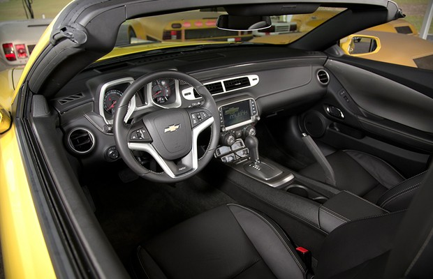 Chevrolet Camaro conversível (Foto: Fabio Aro / Autoesporte)