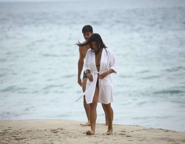 Antonia Morais e Rafael Vitti (Foto: Agnews)