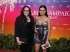 Ana Carolina e Leticia Lima vão juntas à festa de Carol Sampaio no Rio