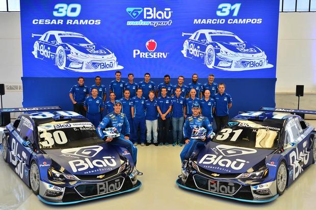 Equipe Blau Motorsport Stock Car (Foto: Divulgação/Fernanda Freixos)