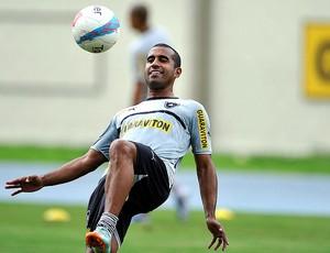 Julio Cesar treino Botafogo (Foto: Fábio Castro / Agif)