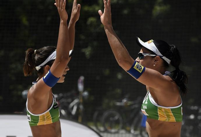 Bárbara e Ágatha Major Series Gstaad vôlei de praia (Foto: Denis Ferreira Netto / CBV)