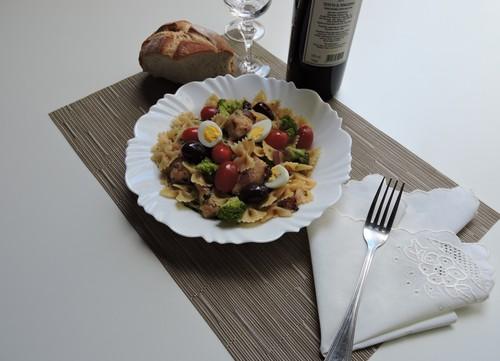 ABIMAPI ensina receita de salada de bacalhau com macarrão