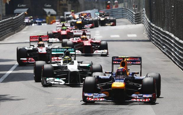GP de Mônaco, F1, Mark Webber (Foto: Agência Getty Images)