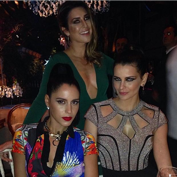 Fernanda Paes Leme, Marina Morena e Fernanda Motta (Foto: Reprodução/Instagram)
