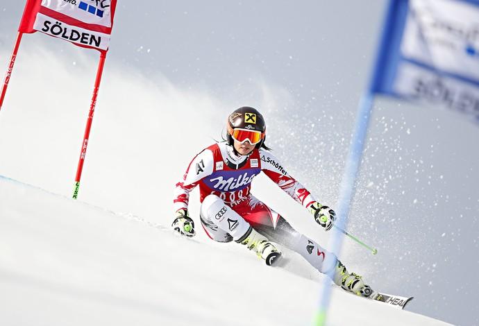 Anna Fenninger esqui  (Foto: Reuters)