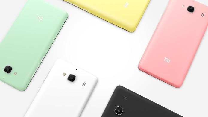 Redmi 2 e 2 Pro possuem dual-chip 4G e câmera de 8 megapixels (Foto: Divulgação/Xiaomi)