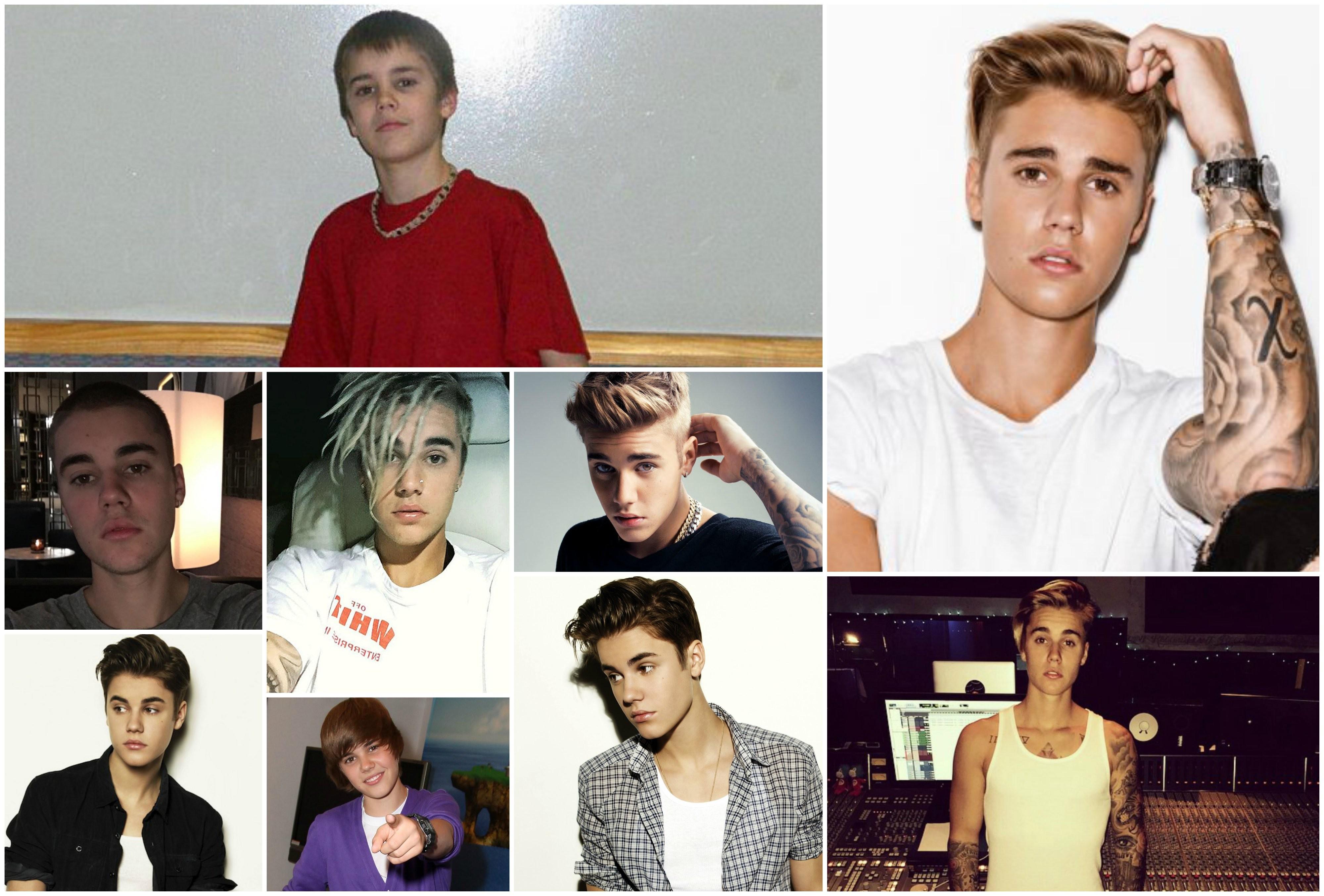 Do comeo da carreira, aos 12, at os dias de hoje: muitos looks e sucessos diferentes (Foto: Reproduo/Instagram)