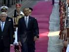 Obama desembarca para último giro internacional como chefe de estado