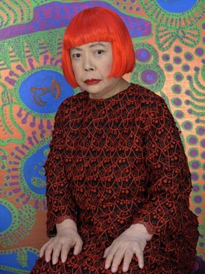 A artista japonesa Yayoi Kusama (Foto: Divulgação/Instituto Tomie Ohtake)